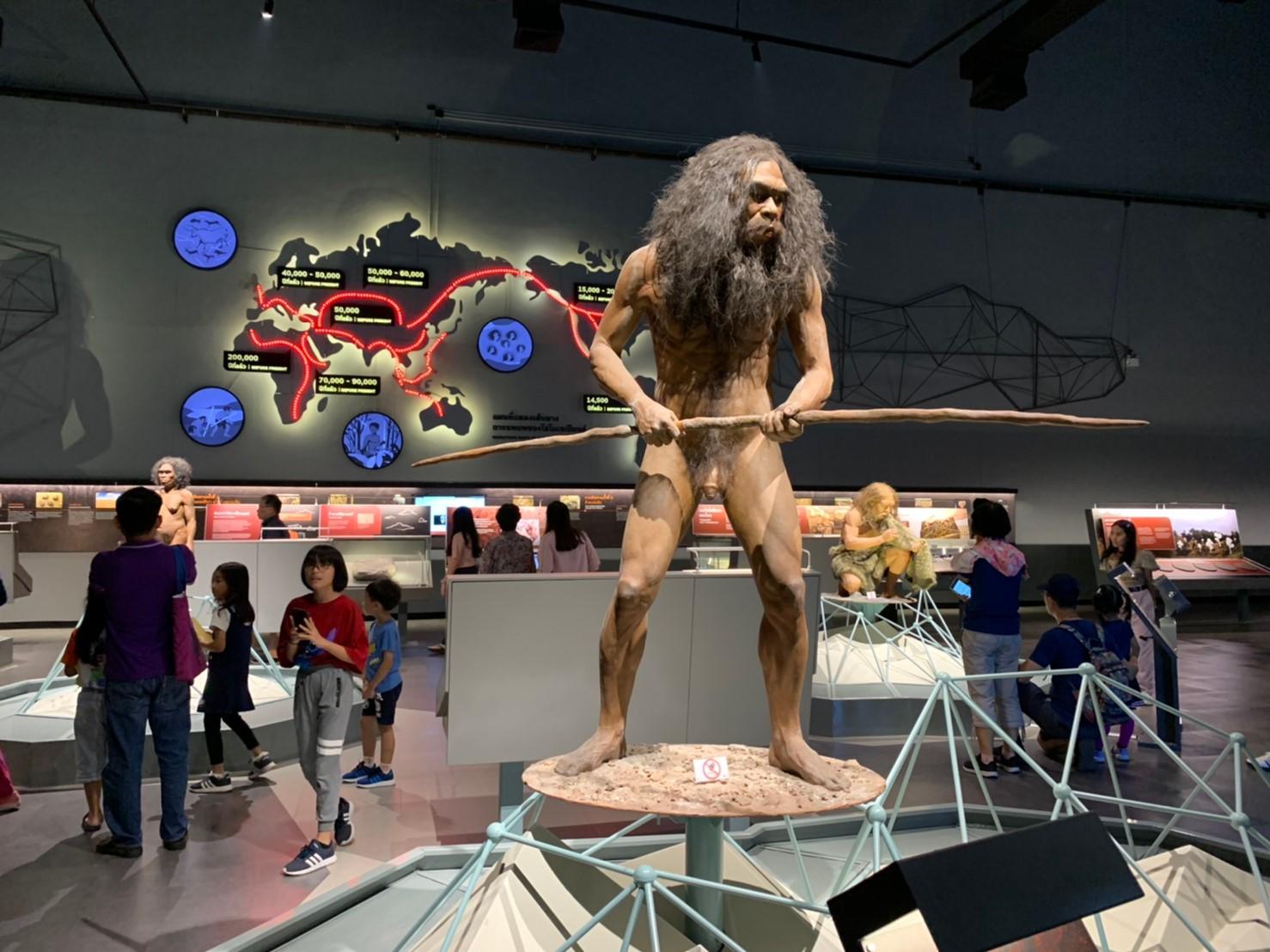 วิวัฒนาการมนูษย์ พิพิธภัณฑ์พระราม9